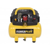 Powerplus POWX1721 Compressor 6 liter
