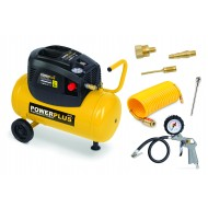 Powerplus POWX1730 Compressorset 24 liter